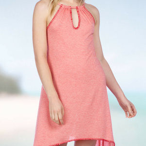NWT! Lucky Brand Coral Hazy Dayz Swimsuit Cover Up
